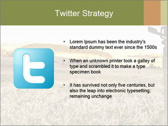 Ice field in the early morning PowerPoint Templates - Slide 9