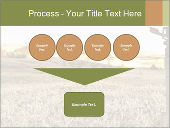 Ice field in the early morning PowerPoint Templates - Slide 93