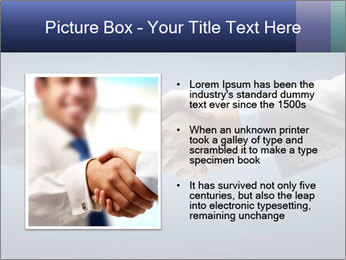 Handshake - Hand holding PowerPoint Template - Slide 13