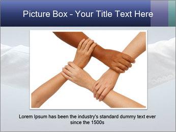 Handshake - Hand holding PowerPoint Template - Slide 15