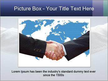 Handshake - Hand holding PowerPoint Template - Slide 16