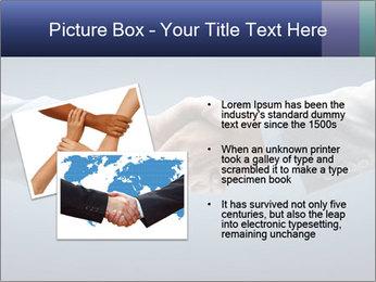 Handshake - Hand holding PowerPoint Template - Slide 20