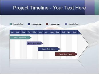 Handshake - Hand holding PowerPoint Template - Slide 25