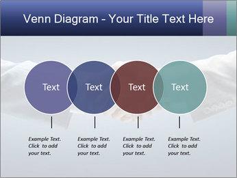 Handshake - Hand holding PowerPoint Template - Slide 32