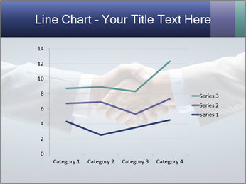 Handshake - Hand holding PowerPoint Template - Slide 54