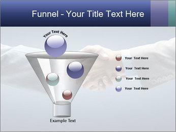 Handshake - Hand holding PowerPoint Template - Slide 63