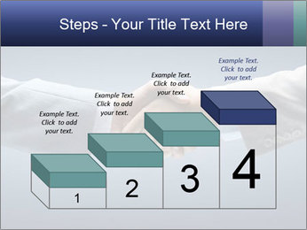 Handshake - Hand holding PowerPoint Template - Slide 64