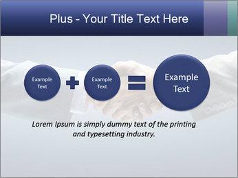 Handshake - Hand holding PowerPoint Template - Slide 75