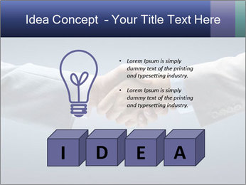 Handshake - Hand holding PowerPoint Template - Slide 80