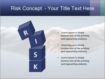 Handshake - Hand holding PowerPoint Template - Slide 81