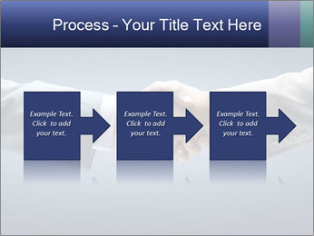 Handshake - Hand holding PowerPoint Template - Slide 88