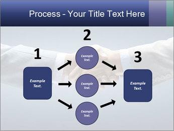 Handshake - Hand holding PowerPoint Template - Slide 92