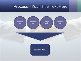 Handshake - Hand holding PowerPoint Template - Slide 93