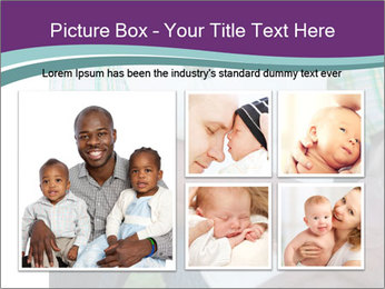 Little Smiling African American Girl PowerPoint Templates - Slide 19