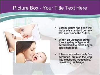 Little Smiling African American Girl PowerPoint Templates - Slide 20
