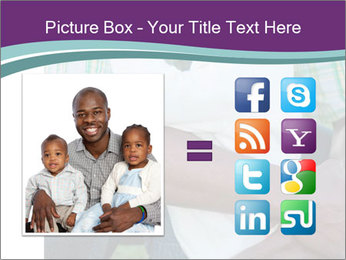 Little Smiling African American Girl PowerPoint Templates - Slide 21