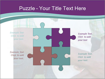 Little Smiling African American Girl PowerPoint Templates - Slide 43