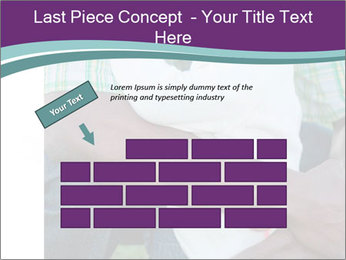Little Smiling African American Girl PowerPoint Templates - Slide 46