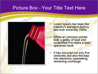Engine oil splashing PowerPoint Template - Slide 13