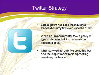 Engine oil splashing PowerPoint Template - Slide 9