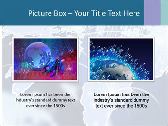 Globe with Fiber Optics PowerPoint Templates - Slide 18