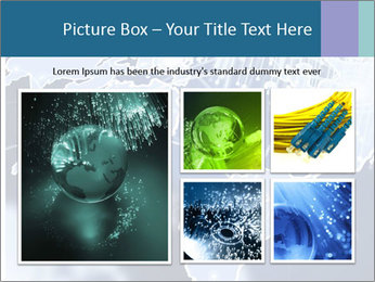 Globe with Fiber Optics PowerPoint Templates - Slide 19