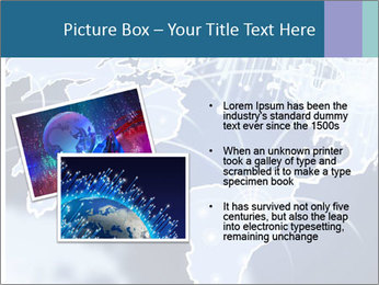 Globe with Fiber Optics PowerPoint Templates - Slide 20
