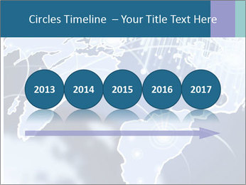 Globe with Fiber Optics PowerPoint Templates - Slide 29