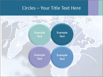 Globe with Fiber Optics PowerPoint Templates - Slide 38