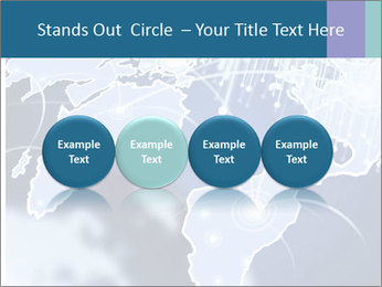 Globe with Fiber Optics PowerPoint Templates - Slide 76