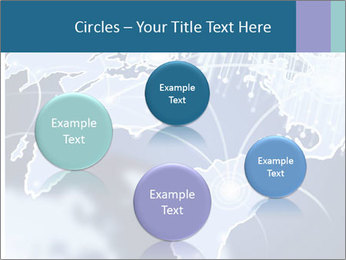 Globe with Fiber Optics PowerPoint Templates - Slide 77