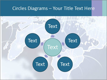 Globe with Fiber Optics PowerPoint Templates - Slide 78