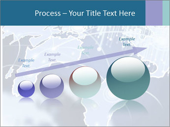 Globe with Fiber Optics PowerPoint Templates - Slide 87