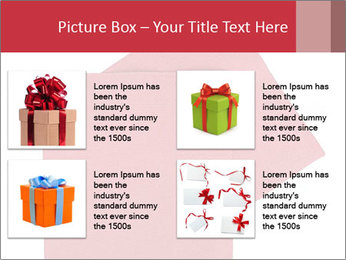 Christmas or festive paper PowerPoint Template - Slide 14