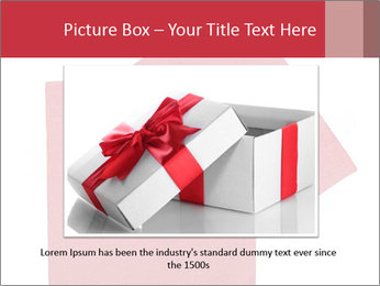 Christmas or festive paper PowerPoint Template - Slide 15