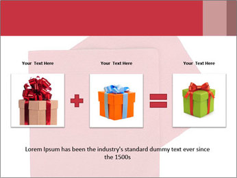 Christmas or festive paper PowerPoint Template - Slide 22
