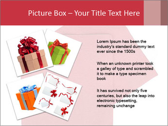 Christmas or festive paper PowerPoint Template - Slide 23