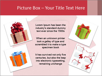 Christmas or festive paper PowerPoint Template - Slide 24