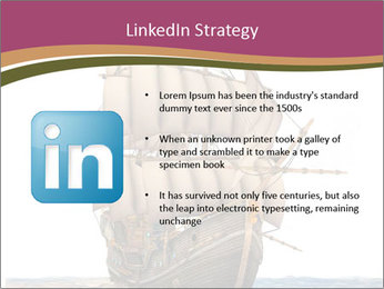 Vintage wooden tall ship PowerPoint Template - Slide 12