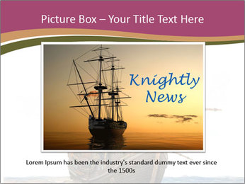Vintage wooden tall ship PowerPoint Templates - Slide 16