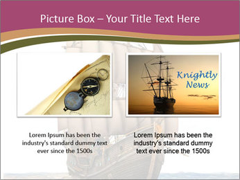 Vintage wooden tall ship PowerPoint Template - Slide 18