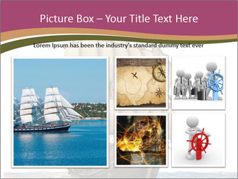 Vintage wooden tall ship PowerPoint Template - Slide 19