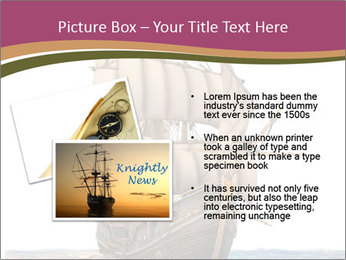 Vintage wooden tall ship PowerPoint Templates - Slide 20
