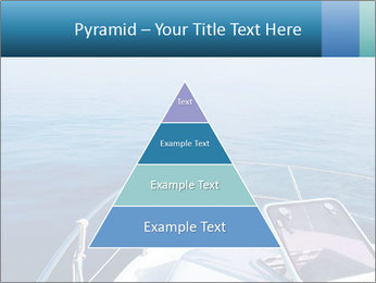 Blue sea boat PowerPoint Templates - Slide 30