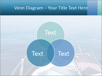 Blue sea boat PowerPoint Templates - Slide 33