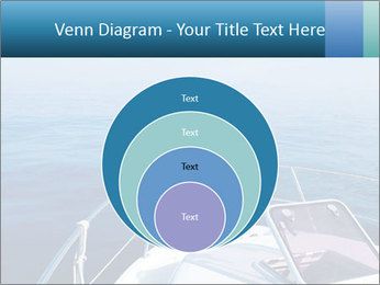 Blue sea boat PowerPoint Templates - Slide 34