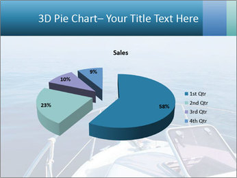 Blue sea boat PowerPoint Templates - Slide 35