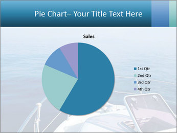 Blue sea boat PowerPoint Templates - Slide 36