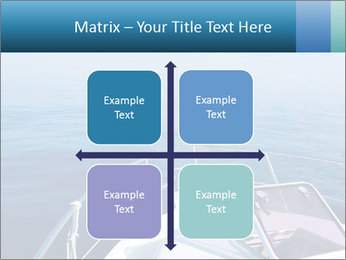 Blue sea boat PowerPoint Templates - Slide 37
