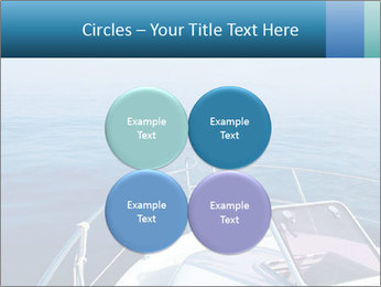 Blue sea boat PowerPoint Templates - Slide 38